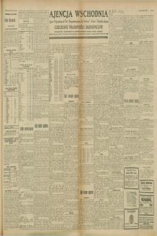 """Ajencja Wschodnia. Codzienne Wiadomości Ekonomiczne = Agence Télégraphique de l'Est = Telegraphenagentur """"Der Ostdienst"""" = Eastern Telegraphic Agency. R.8, nr 214 (19 września 1928)"""
