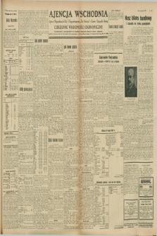"""Ajencja Wschodnia. Codzienne Wiadomości Ekonomiczne = Agence Télégraphique de l'Est = Telegraphenagentur """"Der Ostdienst"""" = Eastern Telegraphic Agency. R.8, nr 216 (21 września 1928)"""