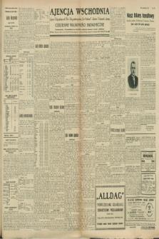 """Ajencja Wschodnia. Codzienne Wiadomości Ekonomiczne = Agence Télégraphique de l'Est = Telegraphenagentur """"Der Ostdienst"""" = Eastern Telegraphic Agency. R.8, nr 220 (26 września 1928)"""
