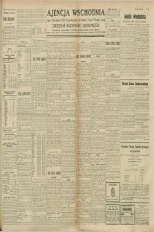 """Ajencja Wschodnia. Codzienne Wiadomości Ekonomiczne = Agence Télégraphique de l'Est = Telegraphenagentur """"Der Ostdienst"""" = Eastern Telegraphic Agency. R.8, nr 221 (27 września 1928)"""