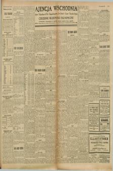 """Ajencja Wschodnia. Codzienne Wiadomości Ekonomiczne = Agence Télégraphique de l'Est = Telegraphenagentur """"Der Ostdienst"""" = Eastern Telegraphic Agency. R.8, nr 223 (29 września 1928)"""