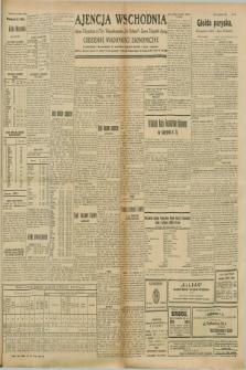 """Ajencja Wschodnia. Codzienne Wiadomości Ekonomiczne = Agence Télégraphique de l'Est = Telegraphenagentur """"Der Ostdienst"""" = Eastern Telegraphic Agency. R.8, nr 224 (30 września i 1 października 1928) + wkładka"""
