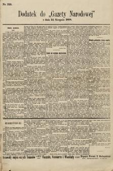 Gazeta Narodowa. 1898, nr225