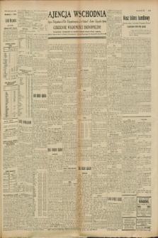 """Ajencja Wschodnia. Codzienne Wiadomości Ekonomiczne = Agence Télégraphique de l'Est = Telegraphenagentur """"Der Ostdienst"""" = Eastern Telegraphic Agency. R.8, nr 226 (3 października 1928)"""