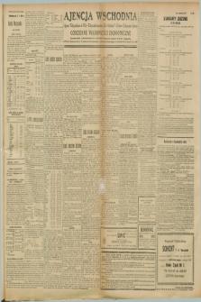 """Ajencja Wschodnia. Codzienne Wiadomości Ekonomiczne = Agence Télégraphique de l'Est = Telegraphenagentur """"Der Ostdienst"""" = Eastern Telegraphic Agency. R.8, nr 228 (5 października 1928)"""