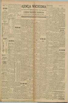 """Ajencja Wschodnia. Codzienne Wiadomości Ekonomiczne = Agence Télégraphique de l'Est = Telegraphenagentur """"Der Ostdienst"""" = Eastern Telegraphic Agency. R.8, nr 231 (9 października 1928)"""