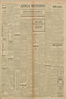"""Ajencja Wschodnia. Codzienne Wiadomości Ekonomiczne = Agence Télégraphique de l'Est = Telegraphenagentur """"Der Ostdienst"""" = Eastern Telegraphic Agency. R.8, nr 235 (13 października 1928)"""