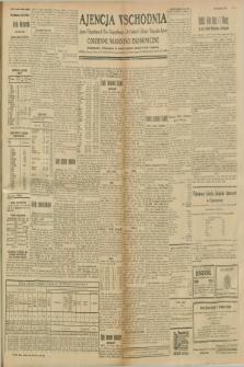 """Ajencja Wschodnia. Codzienne Wiadomości Ekonomiczne = Agence Télégraphique de l'Est = Telegraphenagentur """"Der Ostdienst"""" = Eastern Telegraphic Agency. R.8, nr 236 (14 i 15 października 1928)"""