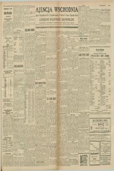 """Ajencja Wschodnia. Codzienne Wiadomości Ekonomiczne = Agence Télégraphique de l'Est = Telegraphenagentur """"Der Ostdienst"""" = Eastern Telegraphic Agency. R.8, nr 237 (16 października 1928)"""