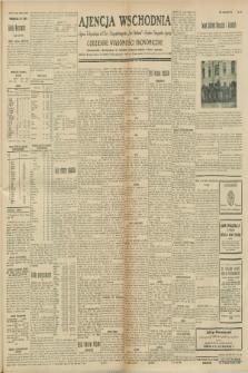 """Ajencja Wschodnia. Codzienne Wiadomości Ekonomiczne = Agence Télégraphique de l'Est = Telegraphenagentur """"Der Ostdienst"""" = Eastern Telegraphic Agency. R.8, nr 239 (18 października 1928)"""