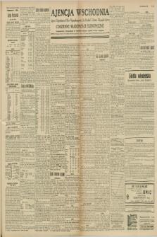 """Ajencja Wschodnia. Codzienne Wiadomości Ekonomiczne = Agence Télégraphique de l'Est = Telegraphenagentur """"Der Ostdienst"""" = Eastern Telegraphic Agency. R.8, nr 240 (19 października 1928)"""