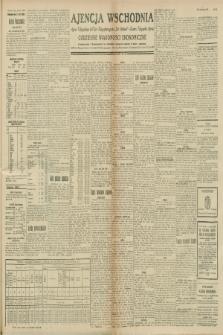 """Ajencja Wschodnia. Codzienne Wiadomości Ekonomiczne = Agence Télégraphique de l'Est = Telegraphenagentur """"Der Ostdienst"""" = Eastern Telegraphic Agency. R.8, nr 242 (21 i 22 października 1928)"""