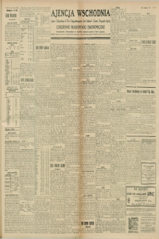 """Ajencja Wschodnia. Codzienne Wiadomości Ekonomiczne = Agence Télégraphique de l'Est = Telegraphenagentur """"Der Ostdienst"""" = Eastern Telegraphic Agency. R.8, nr 243 (23 października 1928)"""