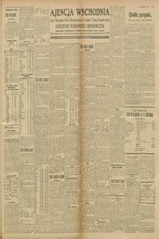 """Ajencja Wschodnia. Codzienne Wiadomości Ekonomiczne = Agence Télégraphique de l'Est = Telegraphenagentur """"Der Ostdienst"""" = Eastern Telegraphic Agency. R.8, nr 244 (24 października 1928)"""