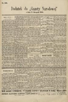 Gazeta Narodowa. 1898, nr226