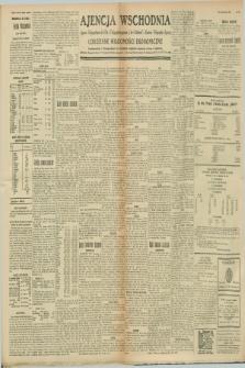 """Ajencja Wschodnia. Codzienne Wiadomości Ekonomiczne = Agence Télégraphique de l'Est = Telegraphenagentur """"Der Ostdienst"""" = Eastern Telegraphic Agency. R.8, nr 249 (30 października 1928)"""