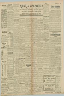 """Ajencja Wschodnia. Codzienne Wiadomości Ekonomiczne = Agence Télégraphique de l'Est = Telegraphenagentur """"Der Ostdienst"""" = Eastern Telegraphic Agency. R.8, nr 250 (31 października 1928)"""