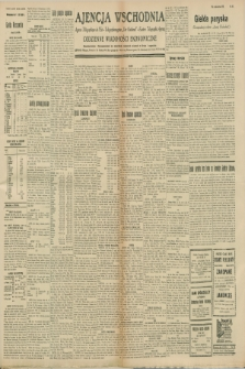 """Ajencja Wschodnia. Codzienne Wiadomości Ekonomiczne = Agence Télégraphique de l'Est = Telegraphenagentur """"Der Ostdienst"""" = Eastern Telegraphic Agency. R.8, nr 251 (1 i 2 listopada 1928)"""