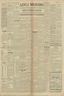 """Ajencja Wschodnia. Codzienne Wiadomości Ekonomiczne = Agence Télégraphique de l'Est = Telegraphenagentur """"Der Ostdienst"""" = Eastern Telegraphic Agency. R.8, nr 252 (3 listopada 1928)"""