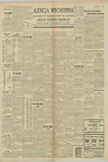 """Ajencja Wschodnia. Codzienne Wiadomości Ekonomiczne = Agence Télégraphique de l'Est = Telegraphenagentur """"Der Ostdienst"""" = Eastern Telegraphic Agency. R.8, nr 254 (6 listopada 1928)"""