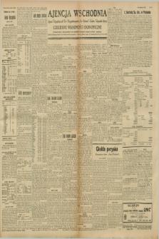 """Ajencja Wschodnia. Codzienne Wiadomości Ekonomiczne = Agence Télégraphique de l'Est = Telegraphenagentur """"Der Ostdienst"""" = Eastern Telegraphic Agency. R.8, nr 255 (7 listopada 1928)"""