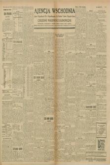 """Ajencja Wschodnia. Codzienne Wiadomości Ekonomiczne = Agence Télégraphique de l'Est = Telegraphenagentur """"Der Ostdienst"""" = Eastern Telegraphic Agency. R.8, nr 257 (9 listopada 1928)"""