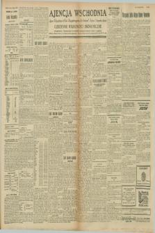 """Ajencja Wschodnia. Codzienne Wiadomości Ekonomiczne = Agence Télégraphique de l'Est = Telegraphenagentur """"Der Ostdienst"""" = Eastern Telegraphic Agency. R.8, nr 260 (13 listopada 1928)"""
