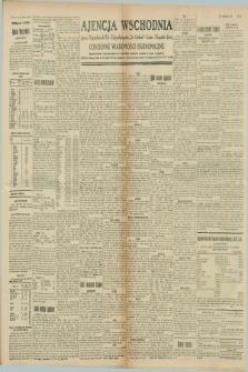 """Ajencja Wschodnia. Codzienne Wiadomości Ekonomiczne = Agence Télégraphique de l'Est = Telegraphenagentur """"Der Ostdienst"""" = Eastern Telegraphic Agency. R.8, nr 261 (14 listopada 1928)"""