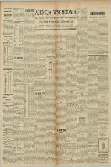 """Ajencja Wschodnia. Codzienne Wiadomości Ekonomiczne = Agence Télégraphique de l'Est = Telegraphenagentur """"Der Ostdienst"""" = Eastern Telegraphic Agency. R.8, nr 262 (15 listopada 1928)"""