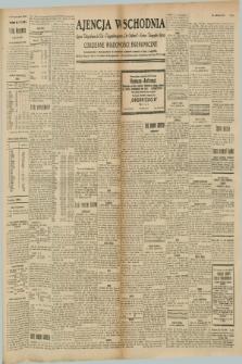 """Ajencja Wschodnia. Codzienne Wiadomości Ekonomiczne = Agence Télégraphique de l'Est = Telegraphenagentur """"Der Ostdienst"""" = Eastern Telegraphic Agency. R.8, nr 264 (17 listopada 1928)"""