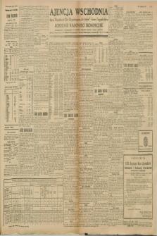 """Ajencja Wschodnia. Codzienne Wiadomości Ekonomiczne = Agence Télégraphique de l'Est = Telegraphenagentur """"Der Ostdienst"""" = Eastern Telegraphic Agency. R.8, nr 265 (18 i 19 listopada 1928)"""