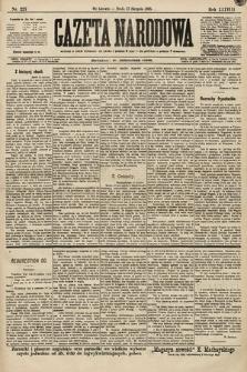Gazeta Narodowa. 1898, nr227