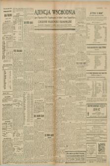 """Ajencja Wschodnia. Codzienne Wiadomości Ekonomiczne = Agence Télégraphique de l'Est = Telegraphenagentur """"Der Ostdienst"""" = Eastern Telegraphic Agency. R.8, nr 266 (20 listopada 1928)"""