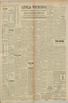 """Ajencja Wschodnia. Codzienne Wiadomości Ekonomiczne = Agence Télégraphique de l'Est = Telegraphenagentur """"Der Ostdienst"""" = Eastern Telegraphic Agency. R.8, nr 268 (22 listopada 1928)"""