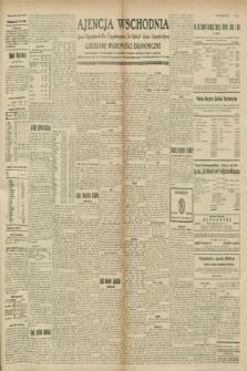 """Ajencja Wschodnia. Codzienne Wiadomości Ekonomiczne = Agence Télégraphique de l'Est = Telegraphenagentur """"Der Ostdienst"""" = Eastern Telegraphic Agency. R.8, nr 271 (25 i 26 listopada 1928)"""