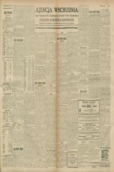 """Ajencja Wschodnia. Codzienne Wiadomości Ekonomiczne = Agence Télégraphique de l'Est = Telegraphenagentur """"Der Ostdienst"""" = Eastern Telegraphic Agency. R.8, nr 275 (30 listopada 1928)"""