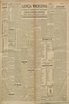 "Ajencja Wschodnia. Codzienne Wiadomości Ekonomiczne = Agence Télégraphique de l'Est = Telegraphenagentur ""Der Ostdienst"" = Eastern Telegraphic Agency. R.8, nr 290 (19 grudnia 1928)"