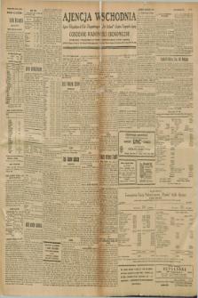 "Ajencja Wschodnia. Codzienne Wiadomości Ekonomiczne = Agence Télégraphique de l'Est = Telegraphenagentur ""Der Ostdienst"" = Eastern Telegraphic Agency. R.8, nr 295 (28 grudnia 1928)"