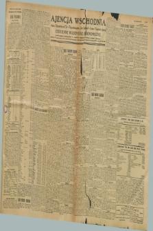 """Ajencja Wschodnia. Codzienne Wiadomości Ekonomiczne = Agence Télégraphique de l'Est = Telegraphenagentur """"Der Ostdienst"""" = Eastern Telegraphic Agency. R.8, nr 297 (30 i 31 grudnia 1928)"""