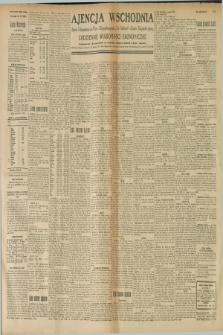 """Ajencja Wschodnia. Codzienne Wiadomości Ekonomiczne = Agence Télégraphique de l'Est = Telegraphenagentur """"Der Ostdienst"""" = Eastern Telegraphic Agency. R.9, nr 21 (25 stycznia 1929)"""