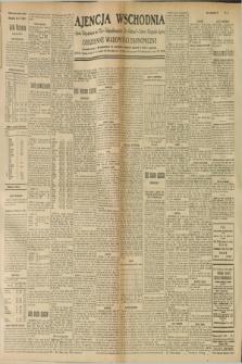 "Ajencja Wschodnia. Codzienne Wiadomości Ekonomiczne = Agence Télégraphique de l'Est = Telegraphenagentur ""Der Ostdienst"" = Eastern Telegraphic Agency. R.9, nr 31 (7 lutego 1929)"
