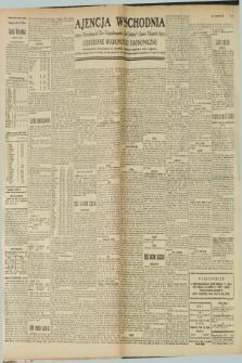 "Ajencja Wschodnia. Codzienne Wiadomości Ekonomiczne = Agence Télégraphique de l'Est = Telegraphenagentur ""Der Ostdienst"" = Eastern Telegraphic Agency. R.9, nr 37 (14 lutego 1929)"