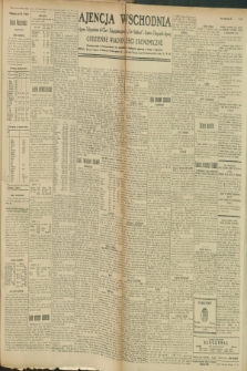 """Ajencja Wschodnia. Codzienne Wiadomości Ekonomiczne = Agence Télégraphique de l'Est = Telegraphenagentur """"Der Ostdienst"""" = Eastern Telegraphic Agency. R.9, nr 105 (9 i 10 maja 1929)"""
