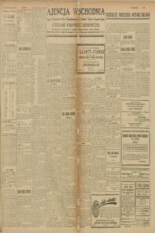 """Ajencja Wschodnia. Codzienne Wiadomości Ekonomiczne = Agence Télégraphique de l'Est = Telegraphenagentur """"Der Ostdienst"""" = Eastern Telegraphic Agency. R.9, nr 134 (15 czerwca 1929)"""