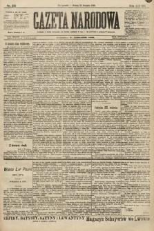 Gazeta Narodowa. 1898, nr237