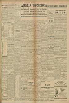 "Ajencja Wschodnia. Codzienne Wiadomości Ekonomiczne = Agence Télégraphique de l'Est = Telegraphenagentur ""Der Ostdienst"" = Eastern Telegraphic Agency. R.9, nr 153 (9 lipca 1929)"