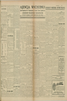 "Ajencja Wschodnia. Codzienne Wiadomości Ekonomiczne = Agence Télégraphique de l'Est = Telegraphenagentur ""Der Ostdienst"" = Eastern Telegraphic Agency. R.9, nr 166 (24 lipca 1929)"