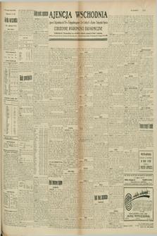 """Ajencja Wschodnia. Codzienne Wiadomości Ekonomiczne = Agence Télégraphique de l'Est = Telegraphenagentur """"Der Ostdienst"""" = Eastern Telegraphic Agency. R.9, nr 225 (2 października 1929)"""
