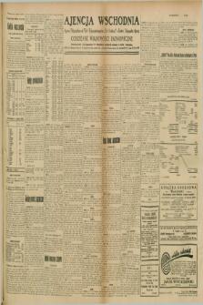"""Ajencja Wschodnia. Codzienne Wiadomości Ekonomiczne = Agence Télégraphique de l'Est = Telegraphenagentur """"Der Ostdienst"""" = Eastern Telegraphic Agency. R.9, nr 235 (13 i 14 października 1929)"""