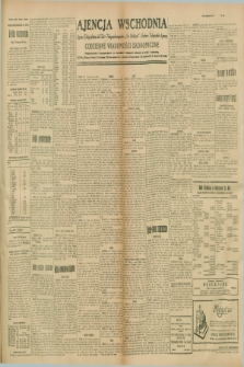 """Ajencja Wschodnia. Codzienne Wiadomości Ekonomiczne = Agence Télégraphique de l'Est = Telegraphenagentur """"Der Ostdienst"""" = Eastern Telegraphic Agency. R.9, nr 270 (24 i 25 listopada 1929)"""